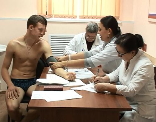 независимое медицинское обследование призывников